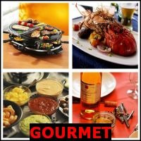 GOURMET- Whats The Word Answers