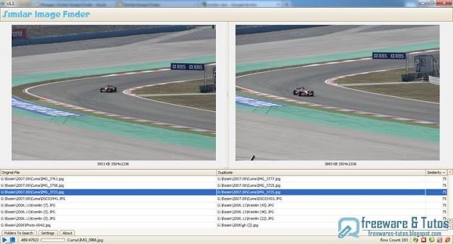Similar Image Finder : un logiciel gratuit pour trouver et supprimer les photos en double de votre ordinateur