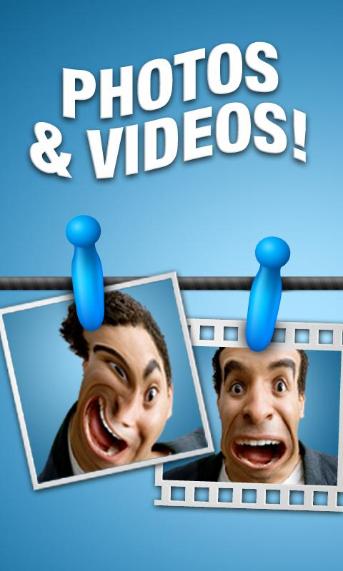 Talking Funny Mirrors Free - screenshot