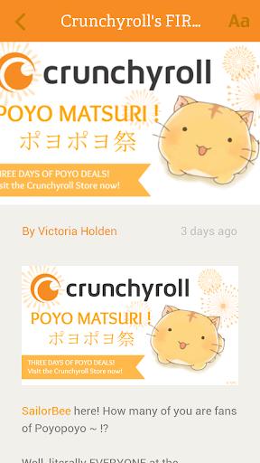 【免費新聞App】Crunchyroll News-APP點子