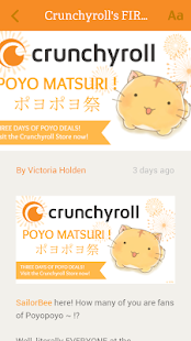 Crunchyroll News- screenshot thumbnail