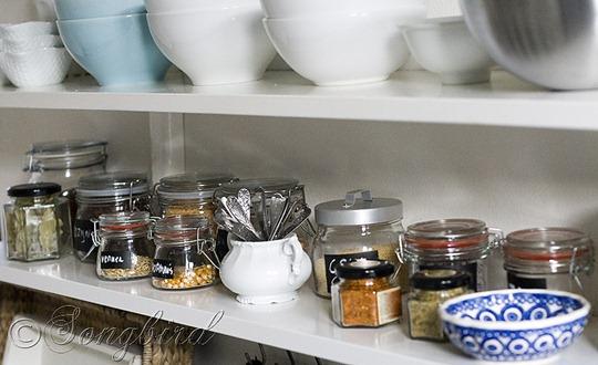Open Shelving Storage Pots 3