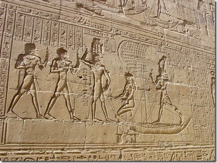 Edfu_temple_relief_by_John_Campana