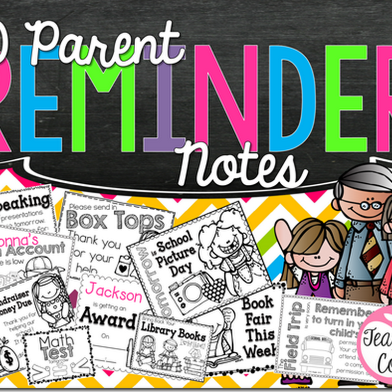 Parent Reminders Updated {Making Your Life Easy}
