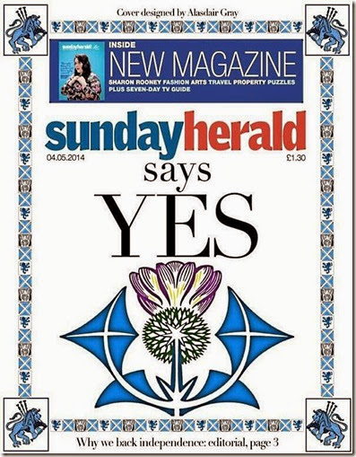 Sunday Herald 4th May 2014