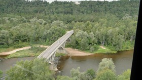 Ponte sobre Rio Gauja