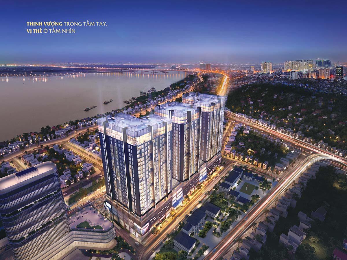 Căn hộ mẫu Sun Grand City Ancora Lương Yên