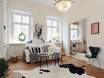 decoracion-interior-sala-blanco-negro