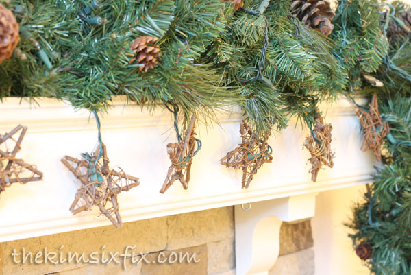 Star lighted garland