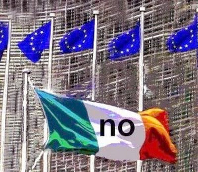 Ireland faces a 'yes' or 'no' vote on the Lisbon Treaty