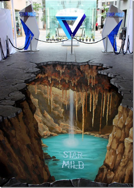 Star Mild. Bandung Indonesia 3D paintings