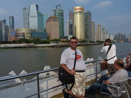 Obiective turistice China: Shanghai cruise
