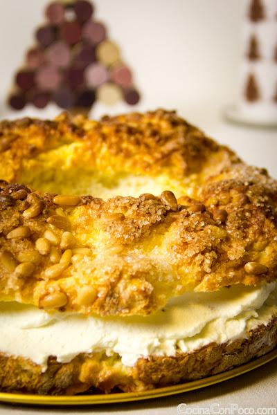 Receta Roscon de Reyes Sin Gluten