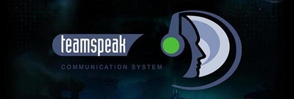 Banner do TeamSpeak.