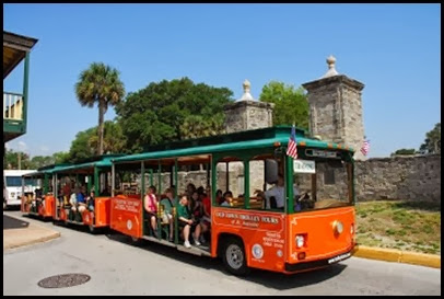 Old Town Trolley Tours of St_ Augustine