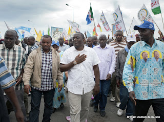 Le candidat indépendant à la présidentielle Joseph Kabila en campagne à Goma, au Nord-Kivu , le 14 novembre 2011. © MONUSCO/Sylvain Liechti