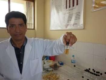 profesor chimbote descubrimiento inusilina