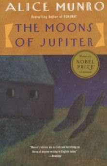 Cover of short story collection The Moons of Jupiter by Alice Munro