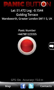 Red Panic Button - screenshot thumbnail