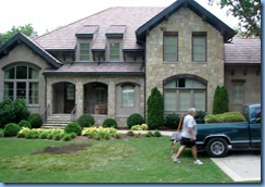 9060 Nashville, Tennessee - Homes of the Stars tour - home (and grandfather) of Kellie Pickler