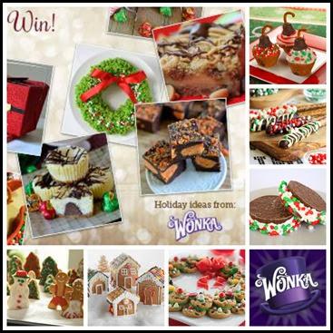 Wonka Christmas desserts