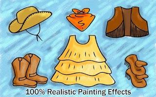 Screenshot of Girls Fashion Painting 4 Kids
