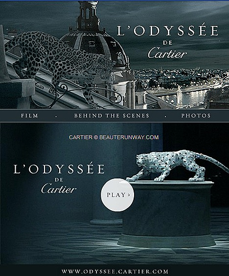 L'ODYSSÉE DE CARTIER WITH ICONIC PANTHERE PREMIERES 165TH ANNIVERSARY JEWEL HOUSE HERITAGE France, US, China, Russia,  UK, Japan