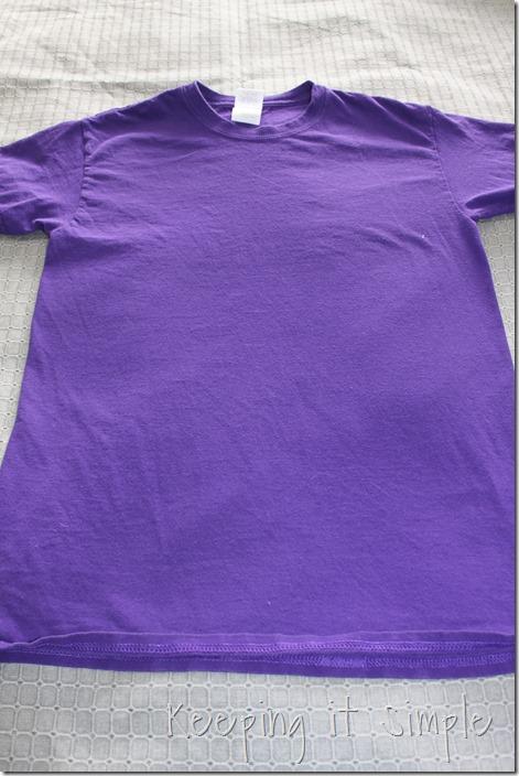 gathered sides t-shirt refashion (2)