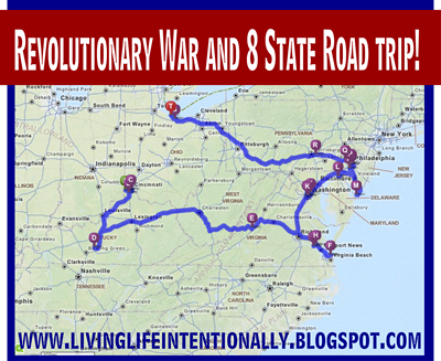 Revolutionary War Family Vacation