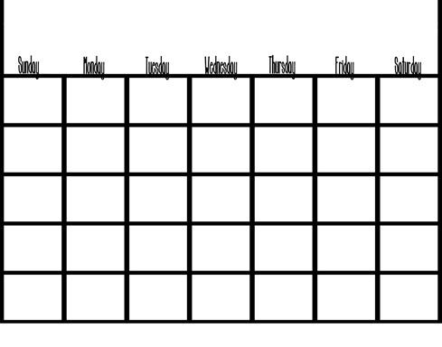 Calendar copy