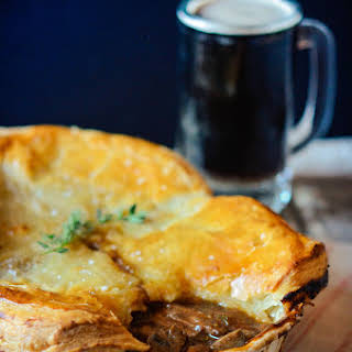 Steak and Guinness Pie.