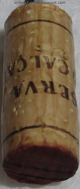 A rolha do vinho