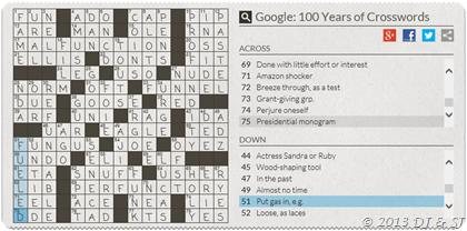 Google Crossword worth 2 hours of our life!