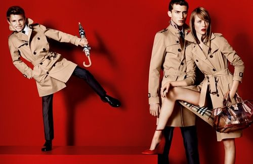 burberry spring_summer 2013 campaign featuring romeo beckham