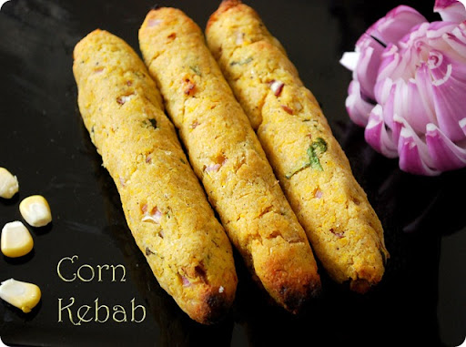Corn kebab recipe