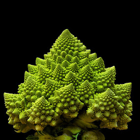 Romanesco cabbage by Romain Bruot - Food & Drink Fruits & Vegetables ( cabbage, romanesco, choux, nourriture, vegetable, legume )