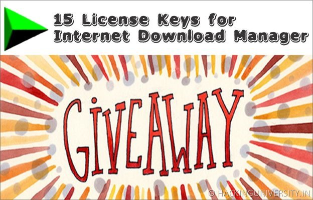 internet download maanger giveaway