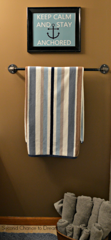 industrial towel bar