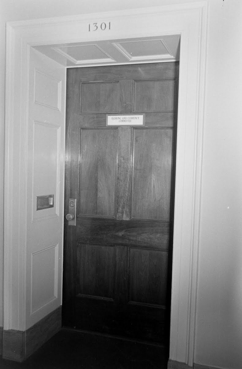 Doorway To House Foreign Affairs Room
