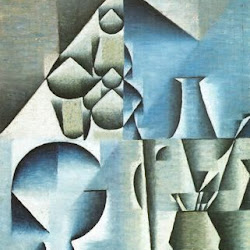 Juan Gris (1912): La Table de café. The Art Institute. Chicago. EEUU.