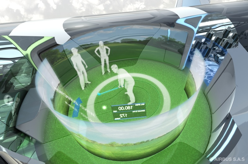 5 interaction zone golf