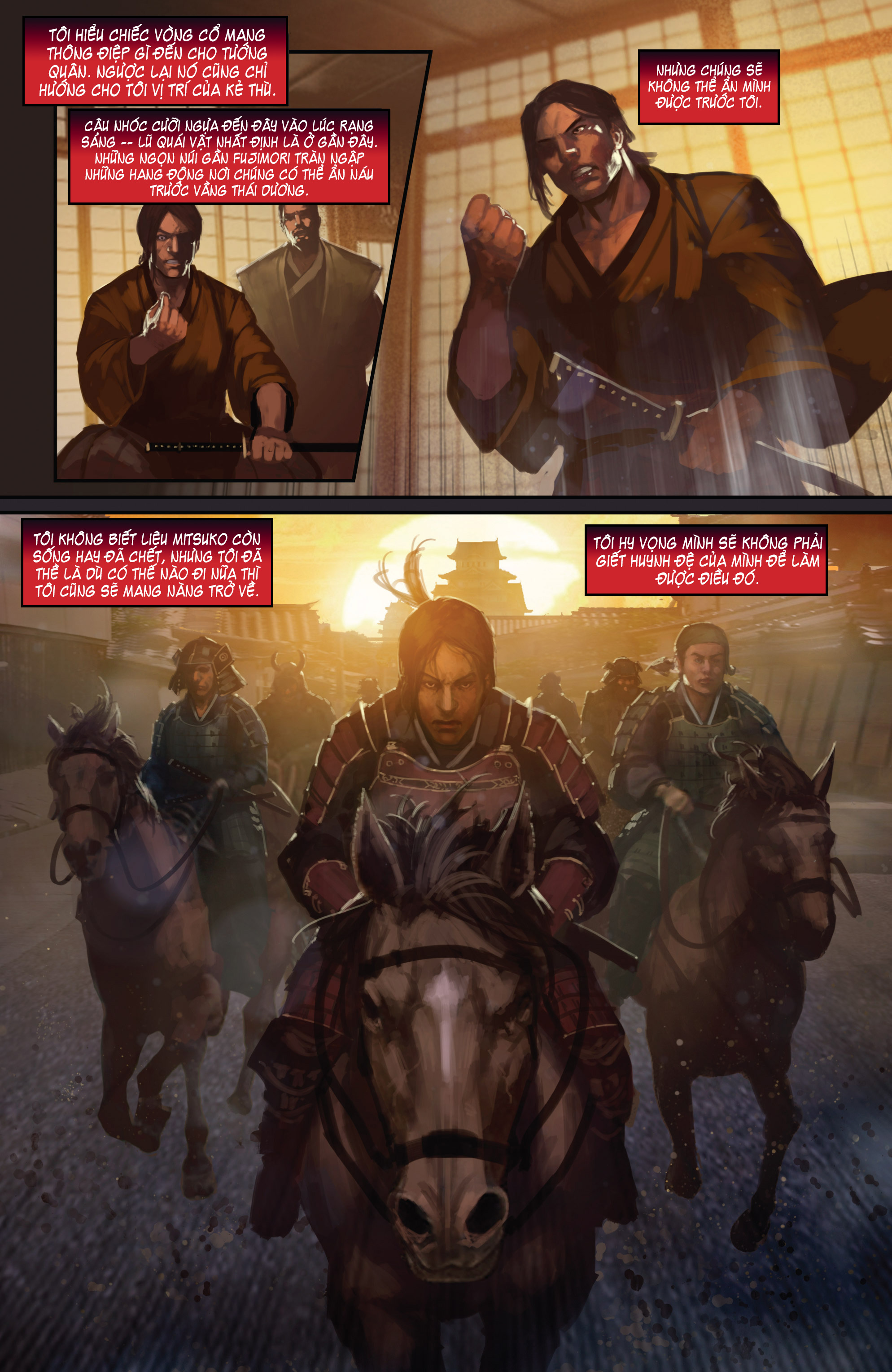 BUSHIDO - THE WAY OF THE WARRIOR chapter 4 trang 16