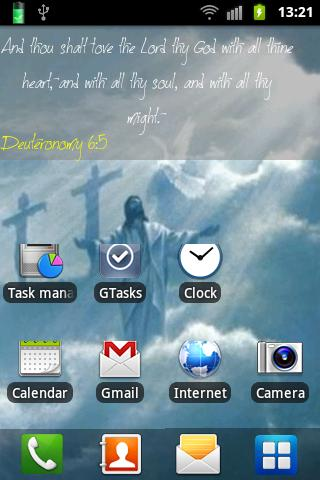 Jesus Christ Live Wallpaper - screenshot