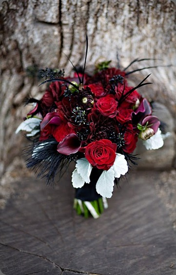 black rose bouquet anastasia floral blogspot