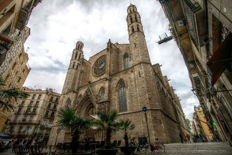 Gothic Quarter Church Barcelona
