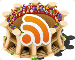 Colosseum icon feed rss