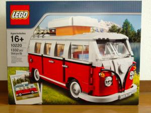 LEGO: 10220 Volkswagen T1 Camper Van [その1]