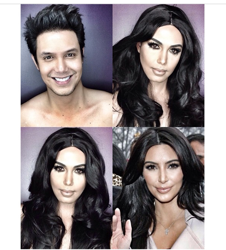 PHOTOS: Dad Transforms Himself Into Celebrities Using Makeup And Wigs 38