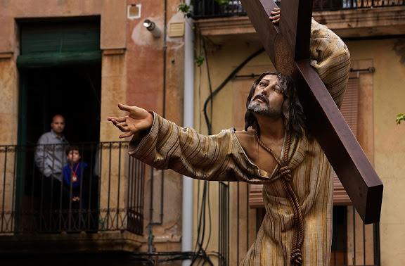 """Misteri """"Crist dels Penitents"""" (I. Soriano Montagut, 1961), Congregació de la Puríssima Sang, processó del Sant Enterrament, Setmana Santa,Tarragona, Tarragonès, Tarragona"""