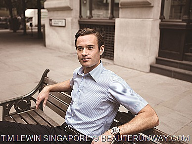 T.M.Lewin half sleeve shirt Singapore exclusive